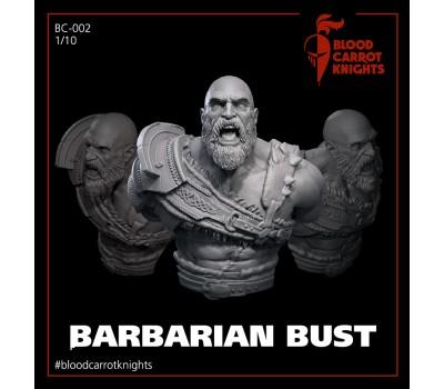 Barbarian Bust 1/10