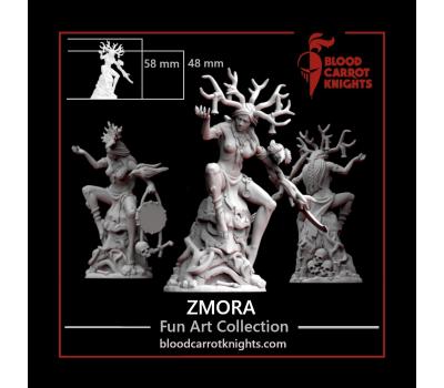 BloodCarrotKnights - Zmora 28mm