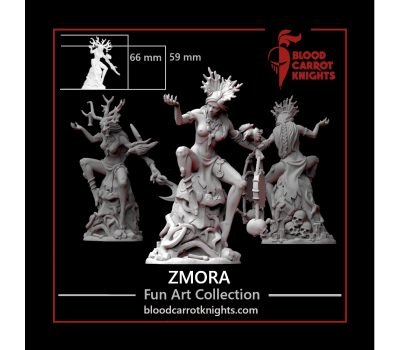 BloodCarrotKnights - Zmora 54mm