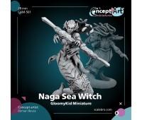 Naga Sea Witch 28mm by Roman Bevza