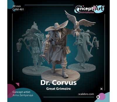 Dr. Corvus 28mm by Anna Zemlyanaya