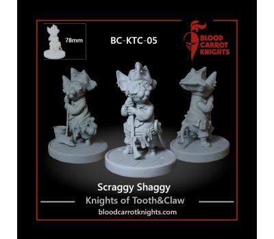 Scraggy Shaggy - Pirate Cat Figure