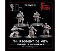 Squad of the 5th Regiment de Vita