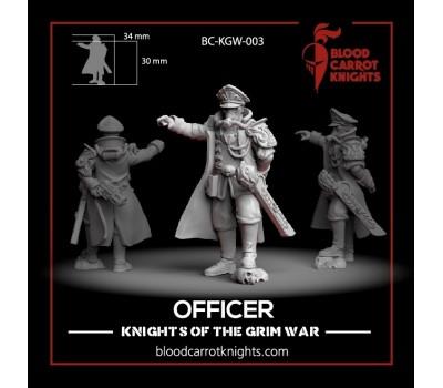 BloodCarrotKnights - Officer of the 5th Regiment de Vita