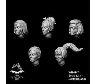 "Helmets model ""MENDAX"" type type girl head"