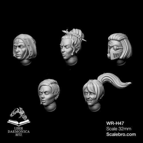 "Helmets model ""MENDAX"" type girl head"
