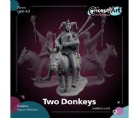 Two Donkeys от Степана Николаева