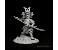 Samurai with Naginata