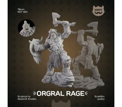 Orgral Rage 75mm