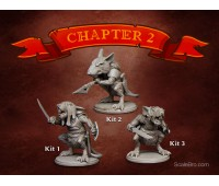 Warrior Rats (3 kits)