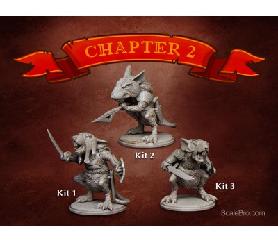 Warrior Rats (3 комплекта)