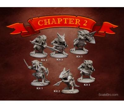 Warrior Rats (6 kits)