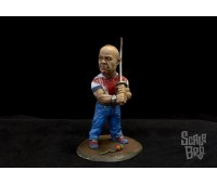 Butch miniature painted