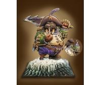 Captain Walrus Painted