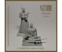 Seppuku (2 Samurai set) 54 mm