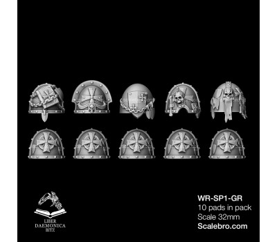 Shoulder Pads Temple Gravis type