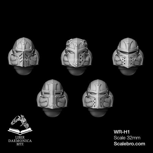 Helmets Temple type
