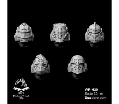 Liber daemonica bitz - Helmets Deus type