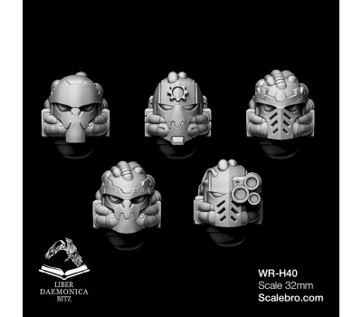Liber daemonica bitz - Helmets Mars type