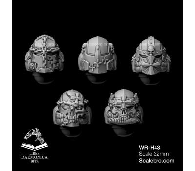 Liber daemonica bitz - Helmets Vult type