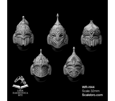 Liber daemonica bitz - Helmets Vityaz type