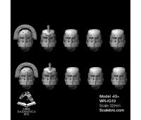 Шлемы Romans type