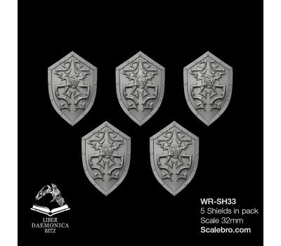 White Raven Studio — Shields Rose