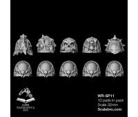 Shoulder Pads Mortis type