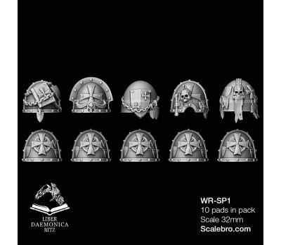 Shoulder Pads Temple type