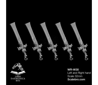 Liber Daemonica Bitz - Weapons Cleaver