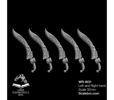 Liber Daemonica Bitz - Weapons Falcata