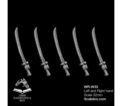 Liber Daemonica Bitz - Weapons Katana