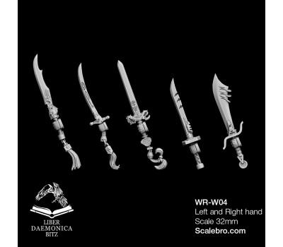 Weapons type Skimitars