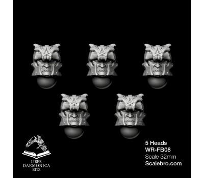 Heads 3 type Bear