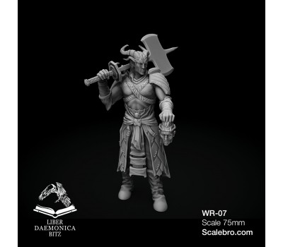 Liber Daemonica Bitz — General Qun 75 mm