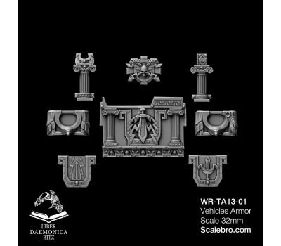Liber Daemonica Bitz — Tank Armor Reptek type Romanus