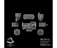 Tank armor Reptek type Temple