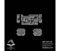 Tank armor Imptek type Temple