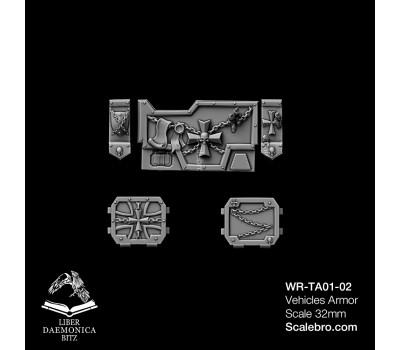 Liber Daemonica Bitz — Tank Armor Imptek type Temple