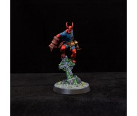 HELLMAN miniature painted