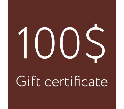 Gift certificate 100$