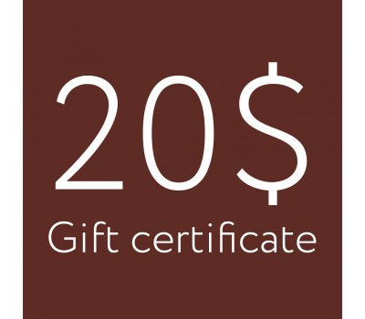 Gift certificate 20$